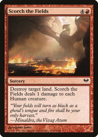 Scorch the Fields [Dark Ascension] | Dragons Den Cards & Games