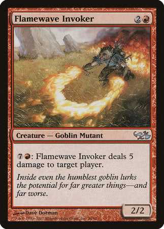 Flamewave Invoker [Duel Decks: Elves vs. Goblins] | Dragons Den Cards & Games
