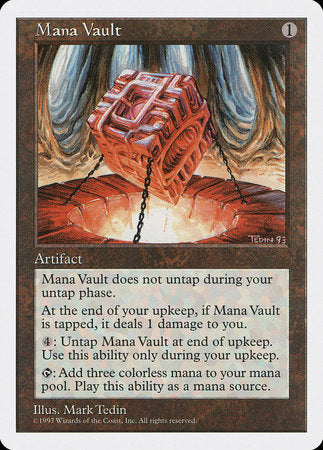 Mana Vault [Fifth Edition] | Dragons Den Cards & Games