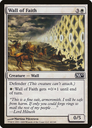 Wall of Faith [Magic 2010] | Dragons Den Cards & Games