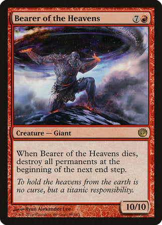 Bearer of the Heavens [Journey into Nyx] | Dragons Den Cards & Games