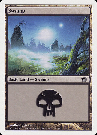 Swamp (339) [Eighth Edition] | Dragons Den Cards & Games