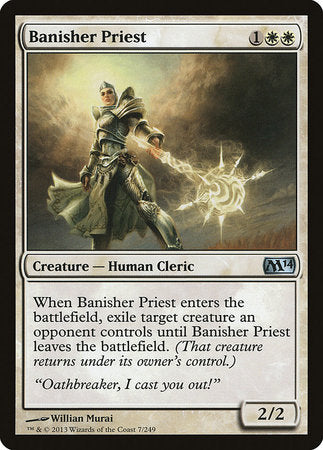 Banisher Priest [Magic 2014] | Dragons Den Cards & Games