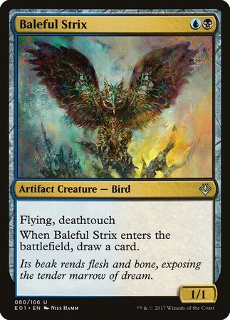 Baleful Strix [Archenemy: Nicol Bolas] | Dragons Den Cards & Games