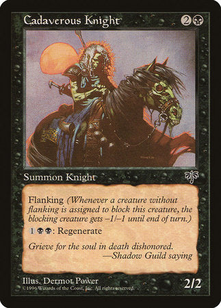 Cadaverous Knight [Mirage] | Dragons Den Cards & Games