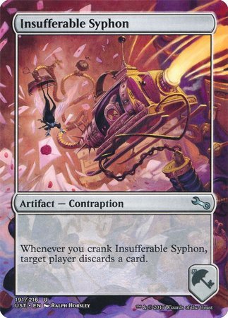 Insufferable Syphon [Unstable] | Dragons Den Cards & Games