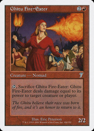 Ghitu Fire-Eater [Seventh Edition] | Dragons Den Cards & Games
