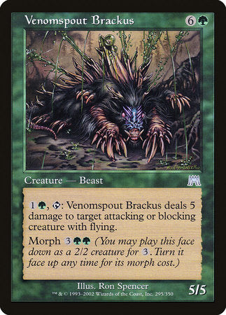 Venomspout Brackus [Onslaught] | Dragons Den Cards & Games