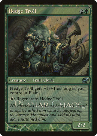 Hedge Troll [Release Events] | Dragons Den Cards & Games