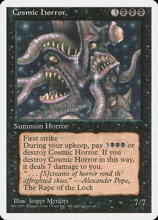 Cosmic Horror [Fourth Edition] | Dragons Den Cards & Games