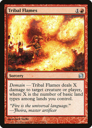 Tribal Flames [Modern Masters] | Dragons Den Cards & Games