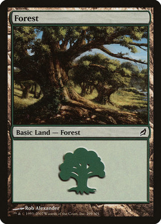 Forest (299) [Lorwyn] | Dragons Den Cards & Games