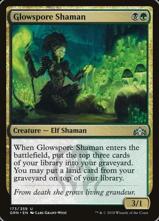 Glowspore Shaman [Guilds of Ravnica] | Dragons Den Cards & Games