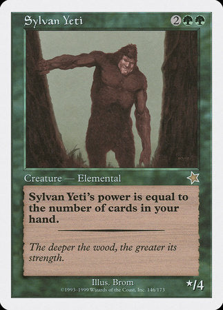 Sylvan Yeti [Starter 1999] | Dragons Den Cards & Games