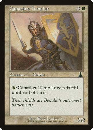 Capashen Templar [Urza's Destiny] | Dragons Den Cards & Games