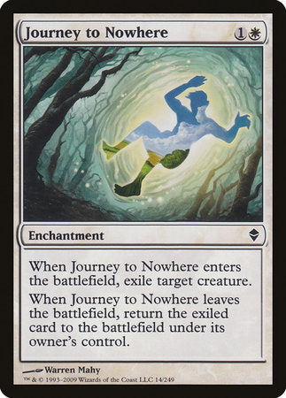 Journey to Nowhere [Zendikar] | Dragons Den Cards & Games