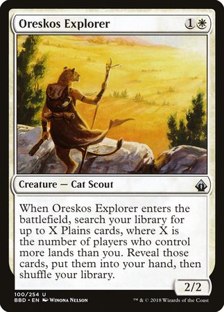 Oreskos Explorer [Battlebond] | Dragons Den Cards & Games