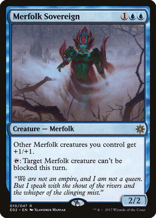 Merfolk Sovereign [Explorers of Ixalan] | Dragons Den Cards & Games