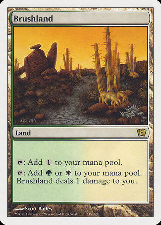 Brushland [Ninth Edition] | Dragons Den Cards & Games