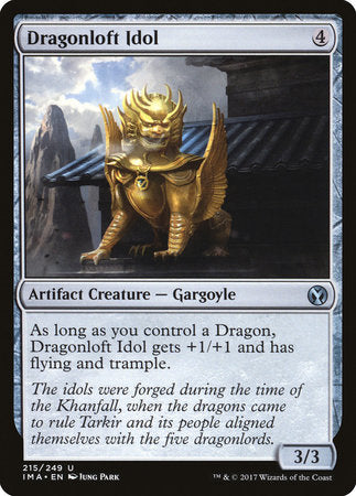 Dragonloft Idol [Iconic Masters] | Dragons Den Cards & Games