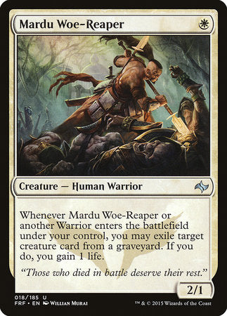 Mardu Woe-Reaper [Fate Reforged] | Dragons Den Cards & Games