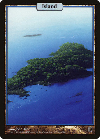 Island - Full Art [Unhinged] | Dragons Den Cards & Games
