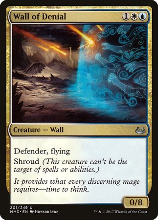 Wall of Denial [Modern Masters 2017] | Dragons Den Cards & Games