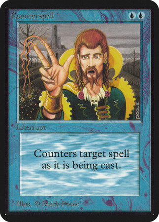 Counterspell [Limited Edition Alpha] | Dragons Den Cards & Games