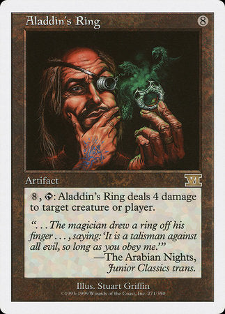 Aladdin's Ring [Classic Sixth Edition] | Dragons Den Cards & Games