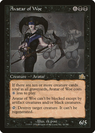Avatar of Woe [Prophecy] | Dragons Den Cards & Games