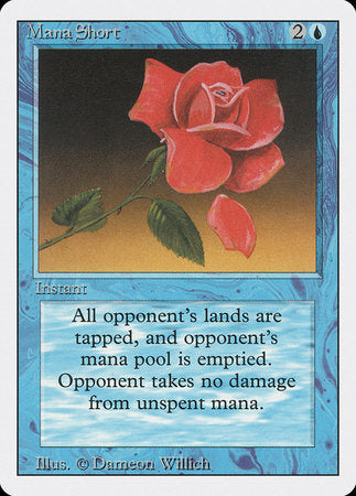 Mana Short [Revised Edition] | Dragons Den Cards & Games