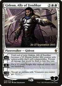 Gideon, Ally of Zendikar [Battle for Zendikar Promos] | Dragons Den Cards & Games