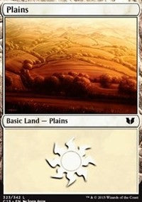 Plains (323) [Commander 2015] | Dragons Den Cards & Games