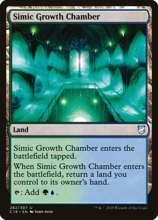 Simic Growth Chamber [Commander 2018] | Dragons Den Cards & Games