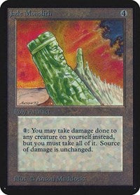 Jade Monolith [Limited Edition Alpha] | Dragons Den Cards & Games