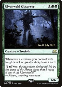 Ulvenwald Observer [Eldritch Moon Promos] | Dragons Den Cards & Games