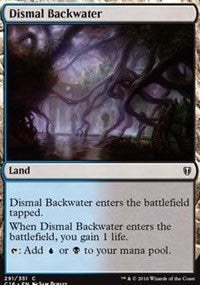 Dismal Backwater [Commander 2016] | Dragons Den Cards & Games