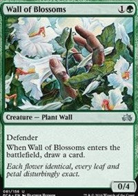 Wall of Blossoms [Planechase Anthology] | Dragons Den Cards & Games