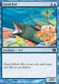 Coral Eel [Ninth Edition] | Dragons Den Cards & Games