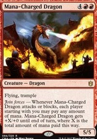 Mana-Charged Dragon [Commander Anthology] | Dragons Den Cards & Games
