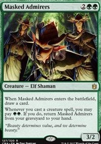 Masked Admirers [Commander Anthology] | Dragons Den Cards & Games