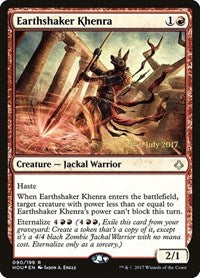 Earthshaker Khenra [Hour of Devastation Promos] | Dragons Den Cards & Games