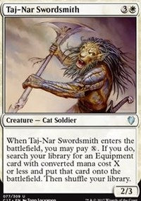 Taj-Nar Swordsmith [Commander 2017] | Dragons Den Cards & Games