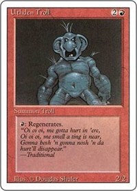 Uthden Troll [Revised Edition] | Dragons Den Cards & Games