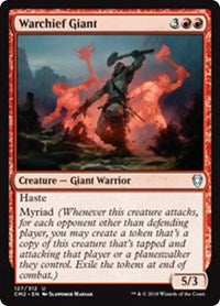 Warchief Giant [Commander Anthology Volume II] | Dragons Den Cards & Games