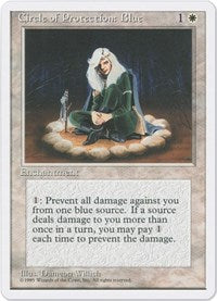 Circle of Protection: Blue [Fourth Edition] | Dragons Den Cards & Games
