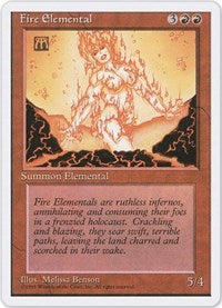 Fire Elemental [Fourth Edition] | Dragons Den Cards & Games