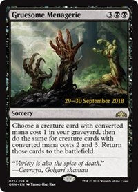 Gruesome Menagerie [Guilds of Ravnica Promos] | Dragons Den Cards & Games