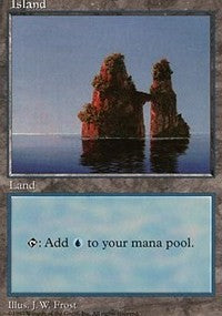Island (427) [Fifth Edition] | Dragons Den Cards & Games