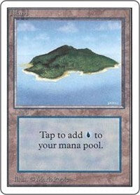 Island (B) [Unlimited Edition] | Dragons Den Cards & Games